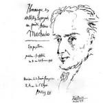 Antonio Machado, por Picasso