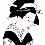 Mujer-japonesa