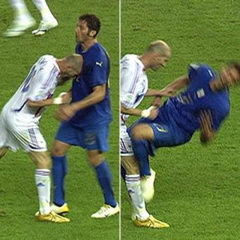 Cabezazo  de Zidane a Materazzi