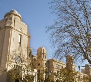 Imagen del Rectorado de la Universidad de Valencia