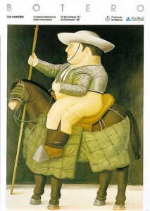 La corrida, de Botero